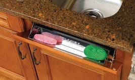 Rev-A-Shelf 28in Stainless Steel Tip-Out Tray - $22.88