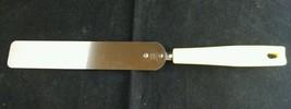 "Vintage EKCO Cake Icing Spatula Stainless Steel Yellow Handle USA 12"" - $9.33"