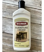 Weiman Furniture Cream with Lemon Oil 8oz Weiman Products 04 Discontinued & HTF  - $27.71