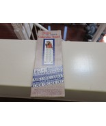 KITTEN , Stevens All Linen Calendar Towel ,1981 , L&M Cigarettes Package... - $7.83