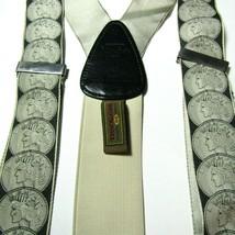 Trafalgar Silk Suspenders Braces Limited Edition Liberty Coin Calvin Curtis - $60.27