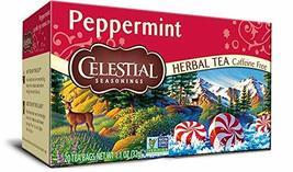 Celestial Seasoning Teas (Peppermint Herbal Tea) - £5.30 GBP