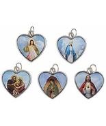 Christian Brands Heart Devotional Medal Assortment (5 Asst) - 50/pk - $43.55
