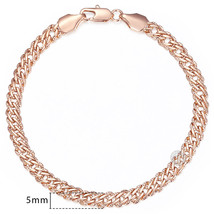 Davieslee Chain Bracelet for Women Weaving Bismark Link Mens Womens Brac... - $13.44