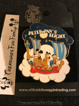 Disney LE Pin Attraction Series Peter Pan's Flight Fab 3 RARE NEW FREE SHIP - $25.99