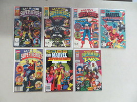 Marvel Super Heroes Season Special 7 Issue Comic Lot Winter Summer Spring Fall - $24.02