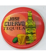 Vintage jose cuervo tequila 1988 hologram moving picture button pin badge - $16.20