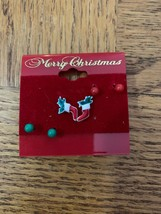 Vintage Christmas Assorted Earrings - $18.50