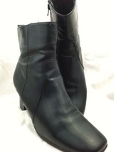 Ankle Boots 9.5 M W Black Jolene Croft & Barrow... - $21.77