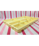 Charming Mid Century Modern Plastic Vanity Jewelry, Sewing or Cosmetic Tray - $14.00