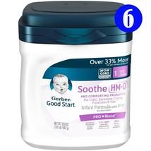 Gerber Good Start Soothe (HMO) Non-GMO Powder Infant Formula, 30.6 oz, (... - $389.99