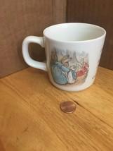 Wedgwood Peter Rabbit Child's Cup Mug Frederick Warne 1993 England - $17.45