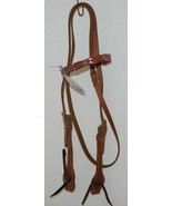 Pioneer Horse Tack Product Number 3852 Leather Headstall Reins Pink Leat... - $84.99