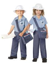 Mr or Ms Postman USPS Mailman Toddler Child Halloween Costume L Lg Large... - $29.35