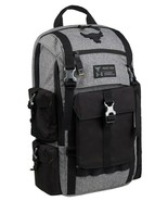 "UNDER ARMOUR UA PROJECT ROCK REGIMENT BACKPACK ""THE ROCK"" BLACK/GREY NEW... - $109.60"