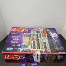 Dracula's Castle Puzz 3D Wrebbit 707 pieces Vampire Puzzle Horror Halloween - $36.63
