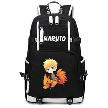 Naruto Theme Fighting Anime Series Backpack Schoolbag Daypack Cute Naruto - $36.99
