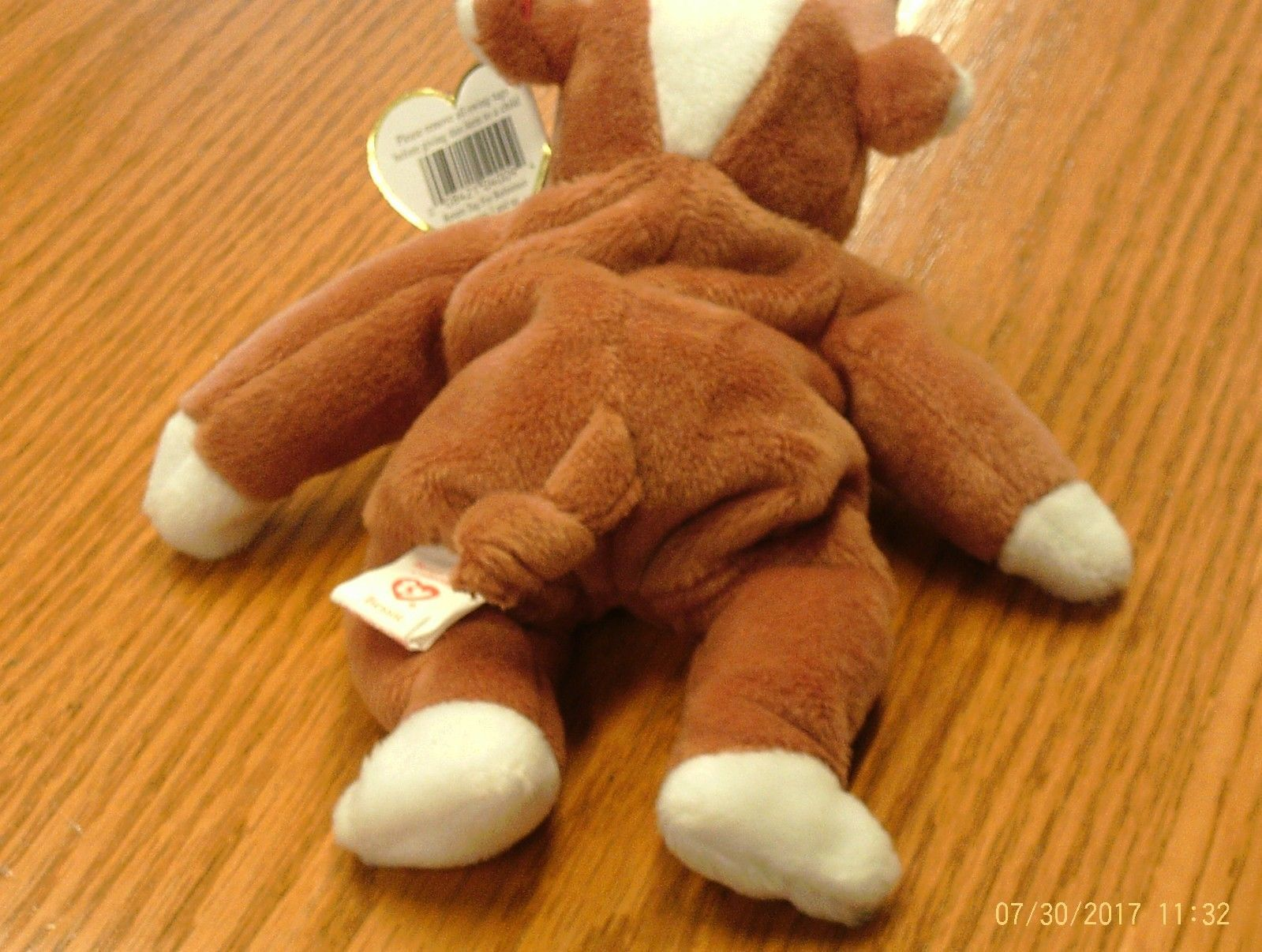 1st Edition Beanie Babies Rare Bessie the Cow, image 6