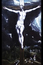 Christ on the cross by El Greco #2 - Art Print - $19.99+