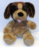 "BUILD A BEAR BARKING TAN BROWN CARAMEL PUP PUPPY DOG 14"" STUFFED PLUSH D... - $5.99"