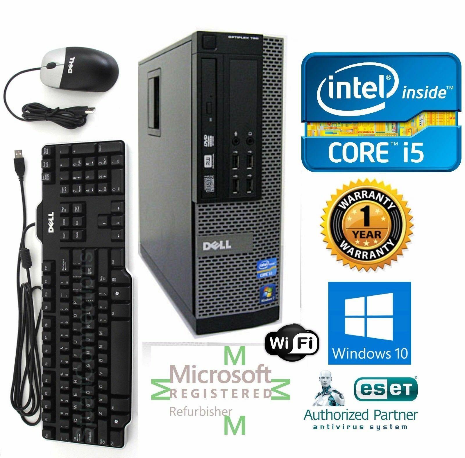 Lot 4 Dell Computer 7020 Core i5-4590 SFF PC 3.40Ghz 8GB 240GB SSD Win 10 Pro 64 - $599.00