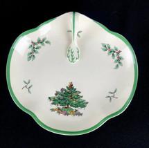 "Spode Christmas Tree Oval Handled Serving Bowl Dish Tray S3324 J England 8.25""  - $20.53"