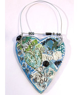 Blue heart ornamentf thumbtall