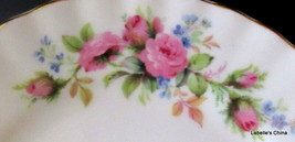 """Moss Rose 6.25"""" Bread / Side Plate Bone China Made in England by Royal A... - $34.60"""