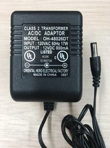 OH-48026DT AC Power Supply Adapter Charger Output: 12V 800mA                  K3