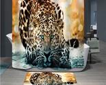 In home bathroom curtains 3d elephant bear peacock giraffe waterproof bath curtain thumb155 crop