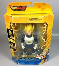 Dragonball Z Super Saiyan Vegeta Bandai action figure Christmas gift cak... - $30.67