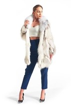 Arctic Ice Fox Fur Coat - $683.10