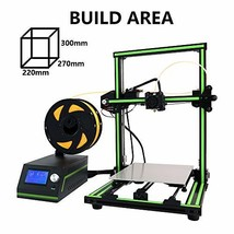 Anet E10 3D Printer Desktop Prusa I3 DIY Kit 3D Printing 300X270X220mm S... - $309.93