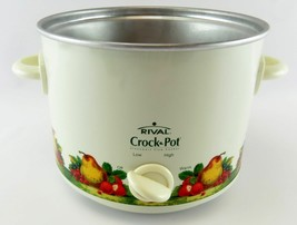 Rival Crock Pot  Replacement Electric Heating BASE w Handles & Knob scr3... - $14.24