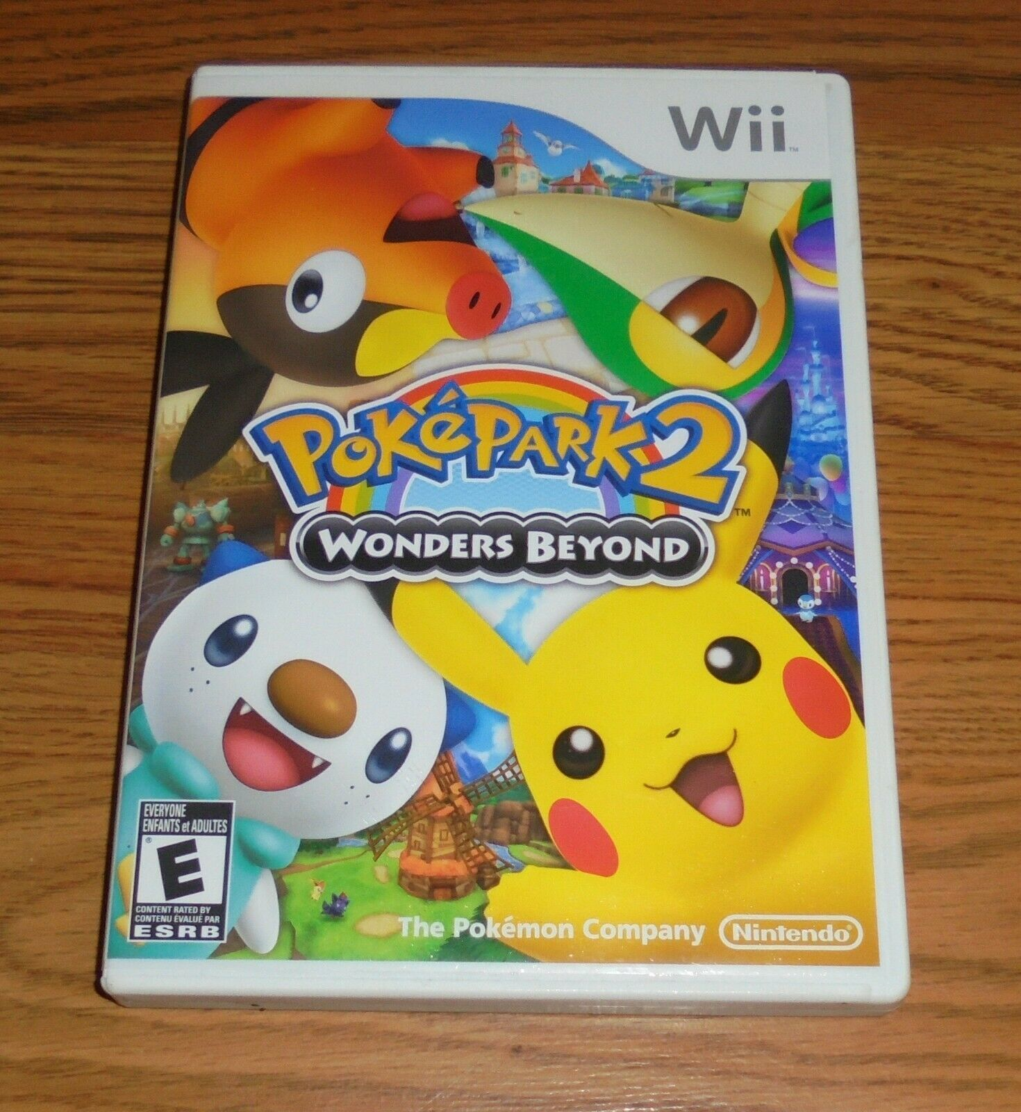 Primary image for PokePark 2: Wonders Beyond (Nintendo Wii, 2012) Pokemon Video Game