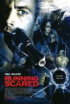 """2006 RUNNING SCARED Movie POSTER 27x40"""" Single-Sided PAUL WALKER - $17.99"""
