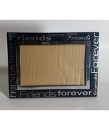 MALDEN INTERNATIONAL FRIENDS FOREVER PHOTO FRAME 5 1/2 X 3 1/2 BLACK WHITE - $4.89