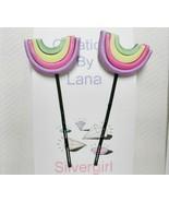 Assorted Set 2 Bobby Pins - Rainbows - $5.49