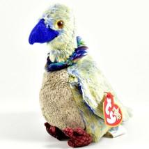 2000 TY Beanie Baby Buzzy Buzzard Bird Retired Beanbag Plush Toy Doll - $1.99