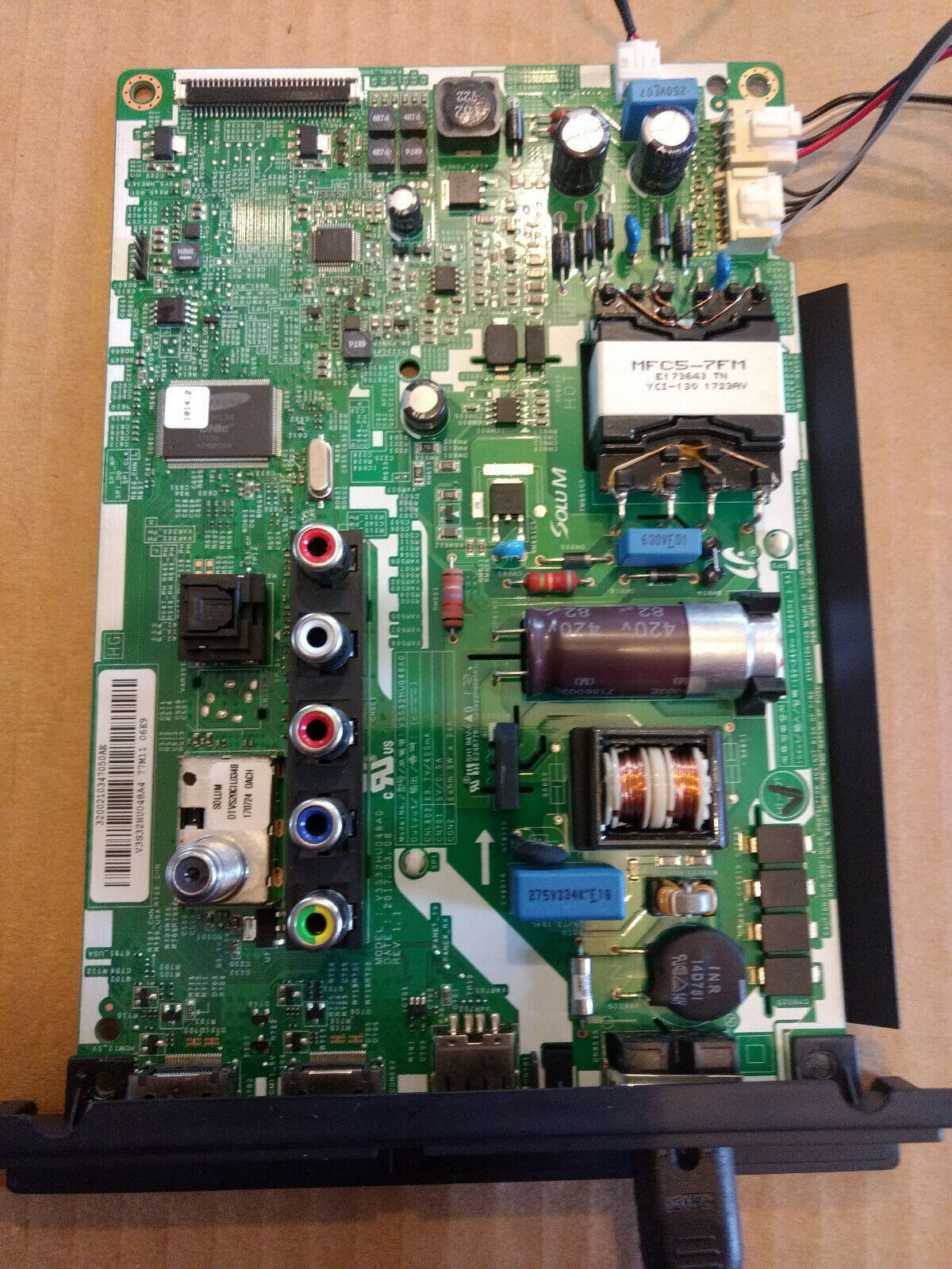 Working UN32J4001AF Samsung Main board 3200210347050AE, Back Lights, and more