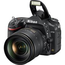 Nikon D750 24.3 MP Digital SLR Camera - Black (with DX VR 24-120mm Lens) - $2,302.05