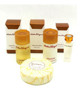 Salvatore Ferragamo TUSCAN SOUL Perfume Gift Set EDT Mini Body Lotion Sh... - $43.55