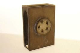 CHINESE MATCH BOX Case BASS AND JADE - $82.07