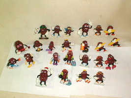 California raisins figurine lot 24 pcs 1987-89 great mix advertising - $150.00