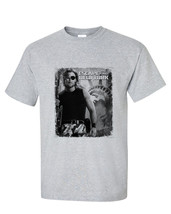 Escape from New York t-shirt Snake Plissken retro 80's sci fi film sports gray image 2