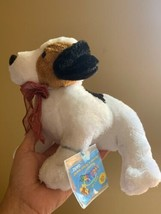"""Webkinz Jack Russell Terrier HM168 Soft Plush Animal Ganz W Code Tag 11"""" Used image 2"""
