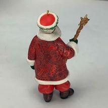 Hallmark Keepsake Ornament Joyful Santa Collectors Series 1999 Vintage image 3