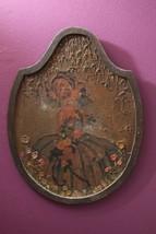 Unique Vintage Lovely Curvy Woman Plaque Art w/... - $49.99