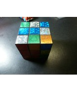 """Hasbro Gaming Rubik's Cube Neon Pop 2.5"""" X 2.5"""" Puzzle for Kids Ages 8 & Up - $13.85"""