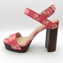 Vince Camuto Womens Lethalia Platform Sandals Multicolor Leather Buckle ... - $69.29